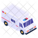 Hospital Vehicle Ambulance Ambulance Van Icon