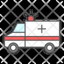 Ambulance Emergency Transportation Icon