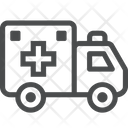 Vehicle Truck Medical Vehicle Icon