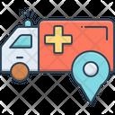 Ambulance Location Icon