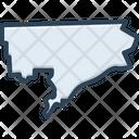 Detroit Michigan Map Icon