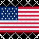 America Flag America States Icon