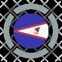 American Samoa Flag Icon