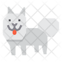 American Eskimo Dog Icon