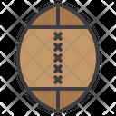 American Football Soccer Hard Helmet Icon