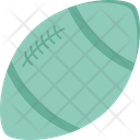 American Football Ball Rugby Icon