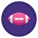 American Football Rugby Ball Rugby Icon