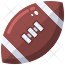 American Football Rugby Ball Ball Icon