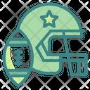 American Football Helmet Football Icon