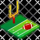 American Football Field Football Sport Icon