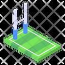 American Football Goal Goalpost Football Field Icon