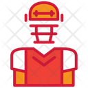 American Football Player Player Costume Icon