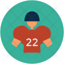 American Football Player Icon