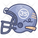 Football American Helmet Icon