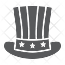 American Independence Hat Icon