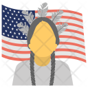 American Indian Red Indians Icon