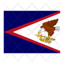 American Samoa Flag Flags Icon