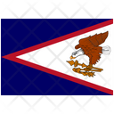 Flag Country American Samoa Icon