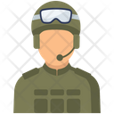 American Soldier Military Soldier Icon