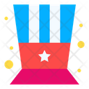 American Top Hat Icon