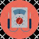 Ammeter Voltmeter Amperemeter Icon