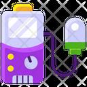 Voltmeter Galvanometer Ammeter Icon