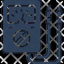Ammeter Ampere Meter Digital Meter Icon