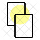 Amonestation Card Football Icon