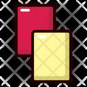 Amonestation Card Yellow Icon