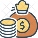 Amount Congeries Money Bag Icon