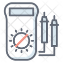 Voltage Meter Ampere Meter Voltmeter Icon