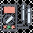 Flow Meter Ammeter Ampere Meter Icon