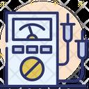 Ampere Meter Voltmeter Electricity Meter Icon