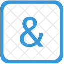 Ampersand Icon