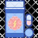 Amphetamines Oxycodon Medicine Icon