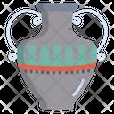 Amphora Egyptian Jar Historic Jar Icon