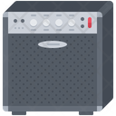 Guitar Amplifier Music Icon