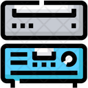 Devices Amplifier Cd Icon