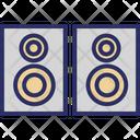 Amplifier Speaker Loudspeakers Music Speakers Icon