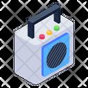 Audio Speaker Handheld Speaker Portable Audio Speaker Icon