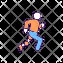 Runner Athlete Amputee Icon