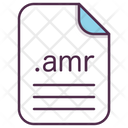 Amr File Document Icon