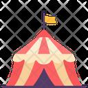 Amusement Tent Park Icon