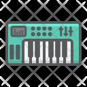 Analog Synthesizer Piano Icon