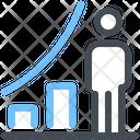 Graph User Progress Icon