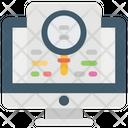 Seo Web Analysis Seo Audit Icon