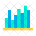 Voting Analytics Bar Graph Infographic Icon