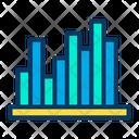 Voting Analytics Bar Graph Infographic Icon