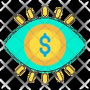 Dollar Analysis Dollar Money Analysis Icon