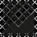 Graph Binary Analytics Icon